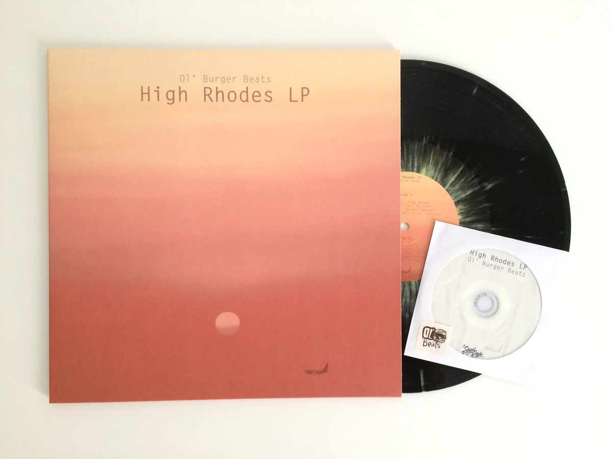 "The 12"" record is sold out. Support Ol Burger and High Rhodes from his  bandcamp ."