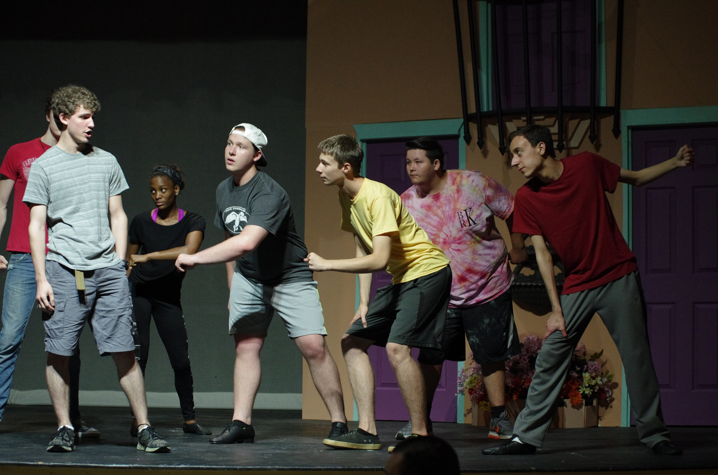 The _Guys and Dolls_ ensemble rehearses a dance number_.jpg