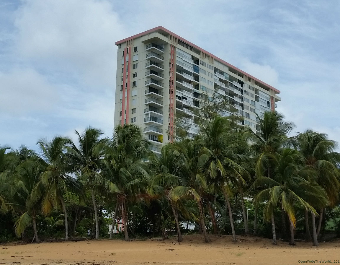 """A good """"home base"""" can make all the difference when traveling abroad. We enjoyed ocean views and plenty of room to spread out when renting a condo in Luquillo, Puerto Rico."""