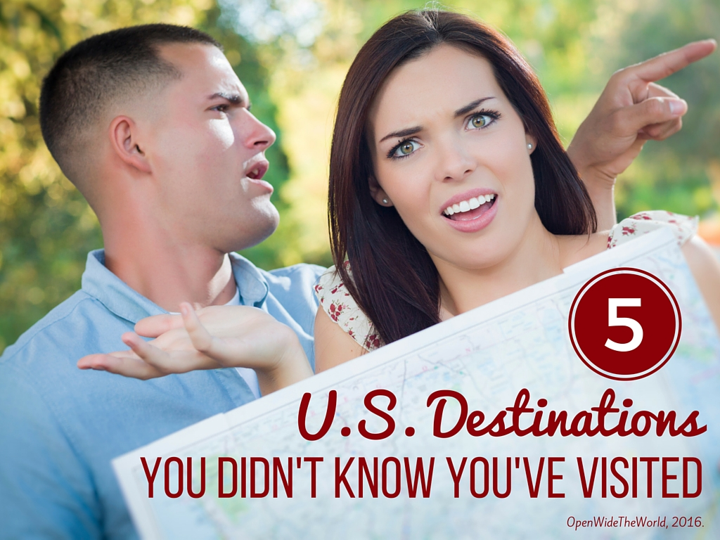 Can you believe the original names of these 5 U.S. destinations? You may have visited without even knowing it! #travel #openwidetheworld