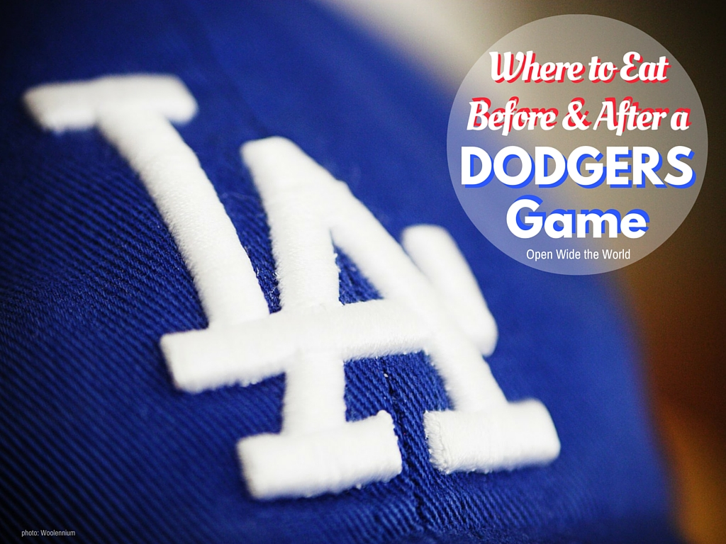 The Dodger Dog is a veritable food institution for LA fans. But this ballpark wiener is not the only gastronomic tradition of Game Day. Check out where Angelinos eat before and after the game, too.