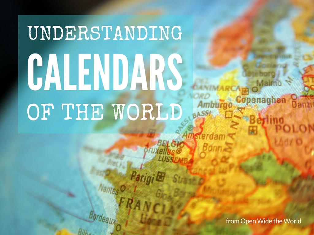 Calendars of the World - OWtW