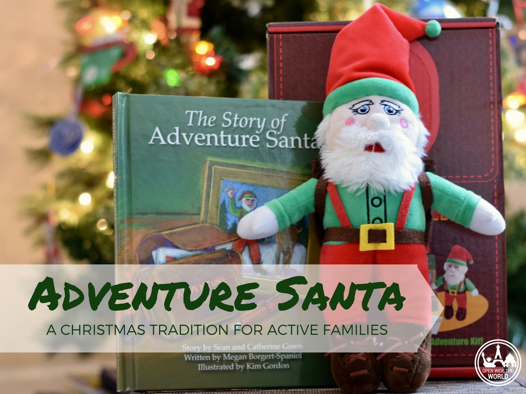 Do you ever wish you had more quality family time -and less hectic frenzy!- during the holidays? Adventure Santa to the rescue! Adventure Santa is a new Christmas tradition that helps keep active families acting together. Check out our experience and find out where to get your own Adventure Santa. Happy active holidays!