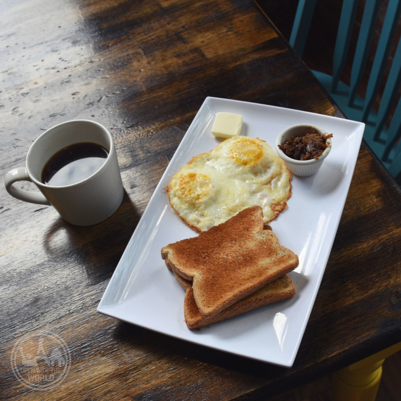 Direct-sourced coffee and breakfast at Endiro Coffee, just one of the reasons why Aurora is the ideal destination for Chicago urbanites looking to spend a day outside the City. #hipster #openwidetheworld
