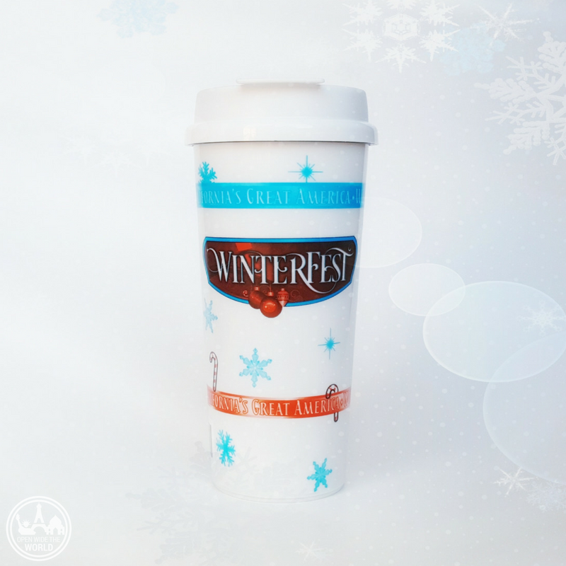 Bottomless hot chocolate is a definite highlight of WinterFest at Worlds of Fun! -from Open Wide the World