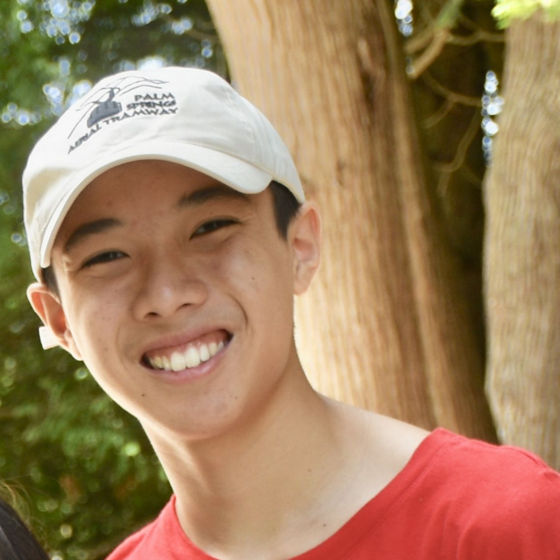 Meet Justin L. - 16 years old ∙ volleyball & gaming enthusiast ∙ first time-camper