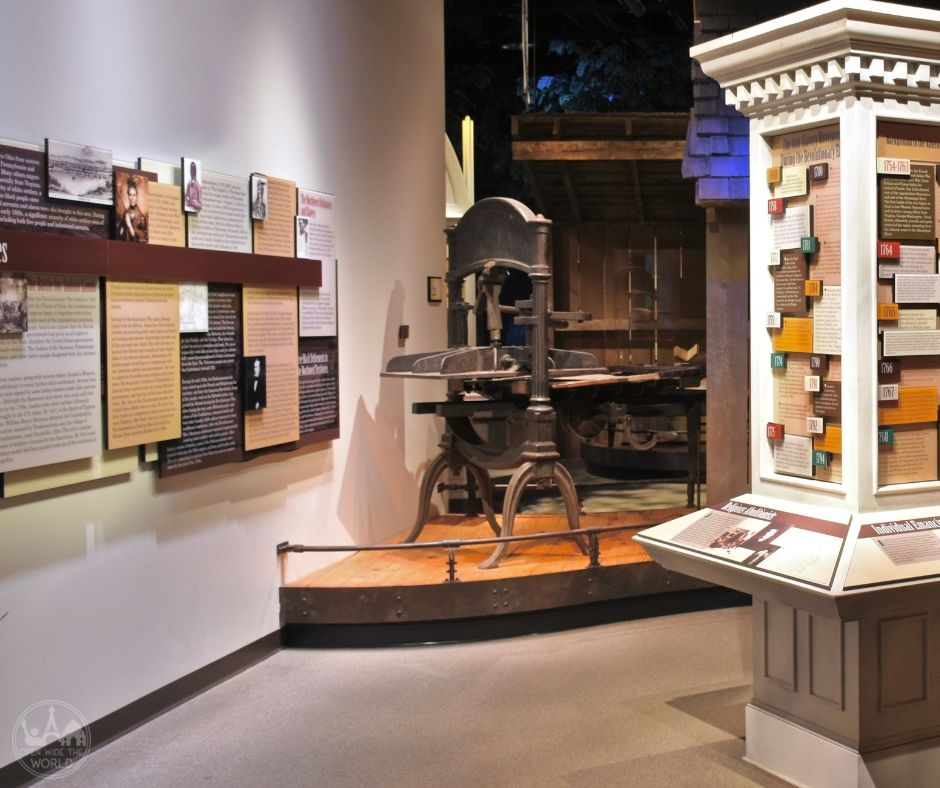 The National Underground Railroad Freedom Center is one of the nation's best museums for reading about the history of slavery on the North American continent. Check out our guide to this amazing Underground Railroad museum. #undergroundrailroad #freedomcenter #cincinnati #openwidetheworld
