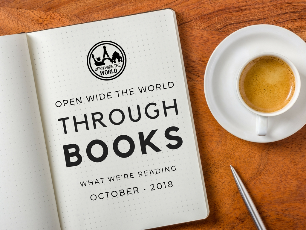 In this series, we share family-friendly books on travel, world cultures, anthropology, and history. Come see what we're reading in October. And share your suggestions, too! #books #tweens #openwidetheworld