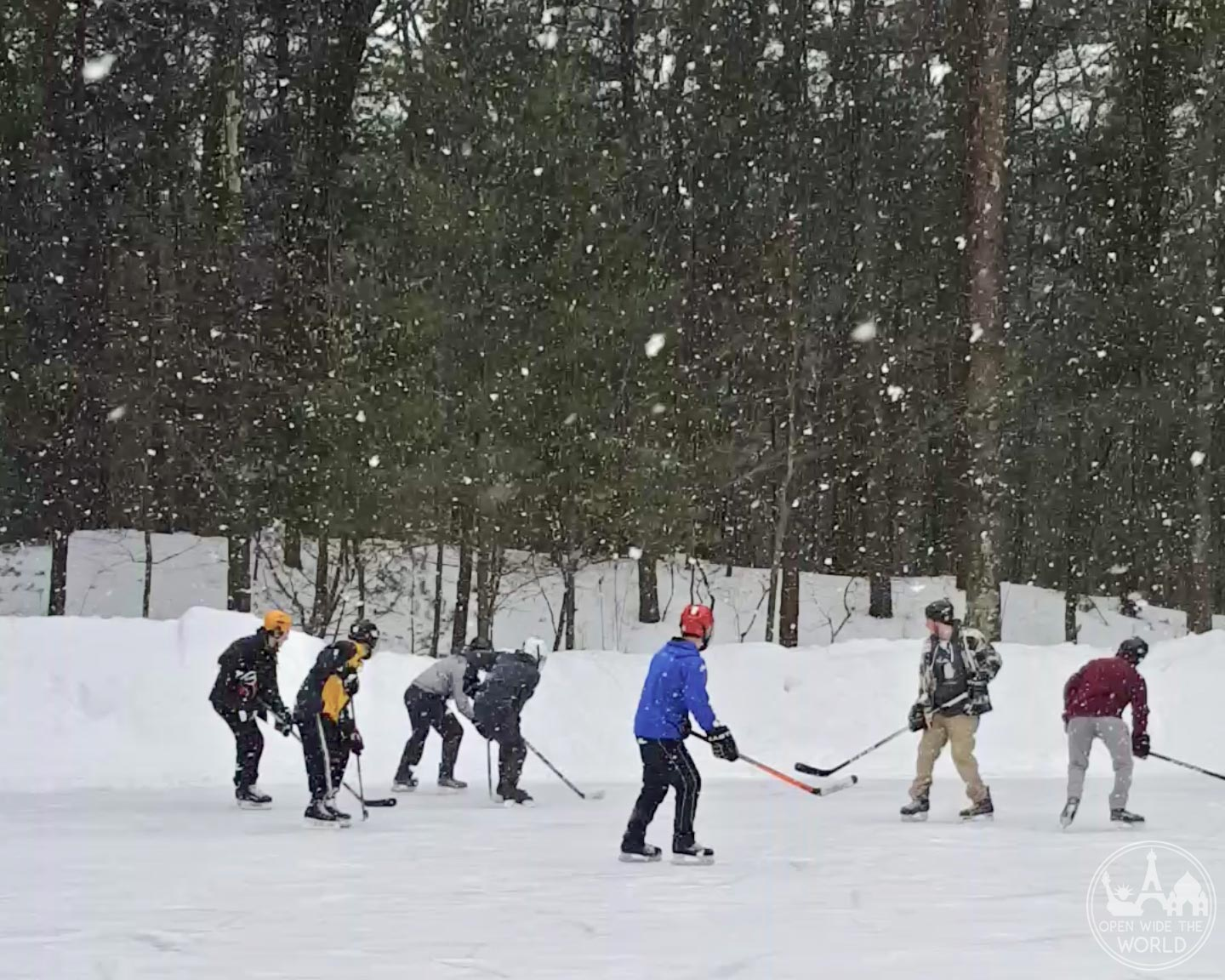 Muskegon Winter Sports Complex offers more than 2 acres of ice rinks and trails. #iceskating #openwidetheworld