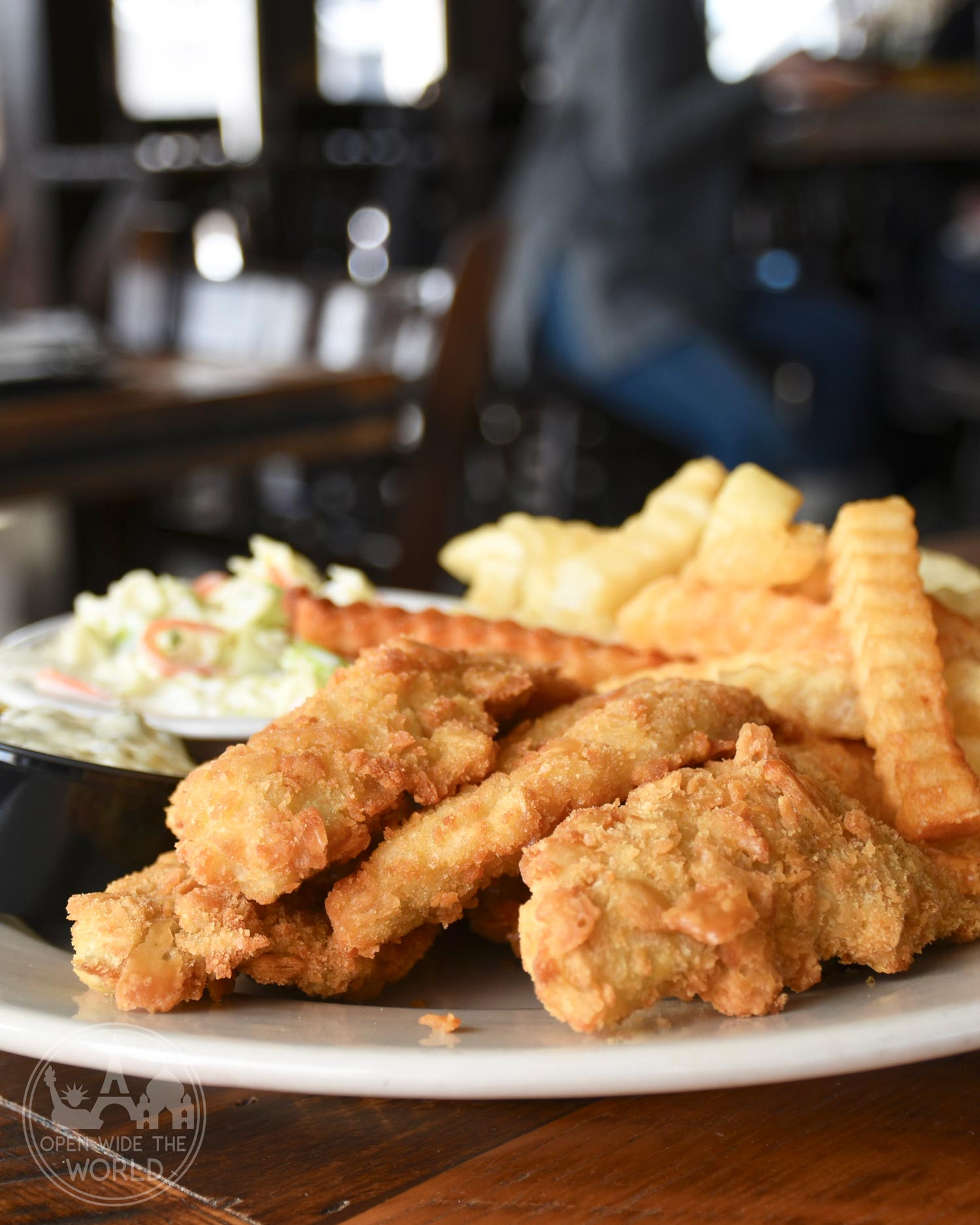 Muskegon, Michigan's Bear Lake Tavern is popular with tourists and locals alike. Famous for their perch. #fishfry #openwidetheworld