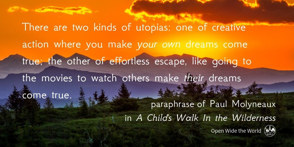 A quote by a father hiking the Appalachian Trail with his 8-year old son, plus other inspiring hiking quotes from modern authors. Not the same quotes about hiking seen all over the internet. Lesser known quotes that will inspire you to fall in love with hiking all over again! #hiking #openwidetheworld