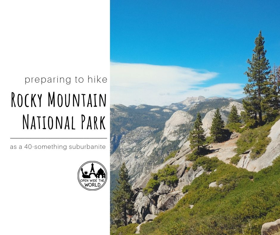 After a decade away from mountains, I suddenly find myself needing to get in shape for hiking again. Follow along as I train for hiking Rocky Mountain National Park. And maybe learn some new exercises to prepare for hiking yourself, too. And let me know what you are training for! #hiking #openwidetheworld