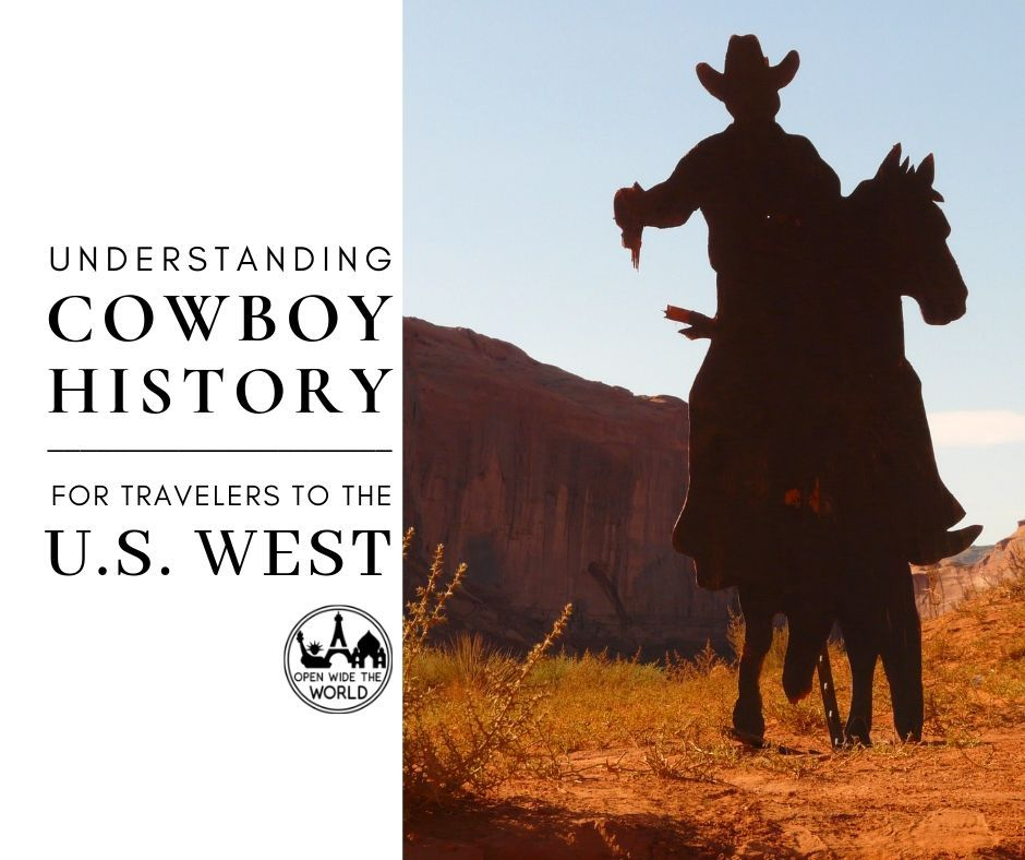 The American cowboy is part of our national collective identity. But how well do we truly know this almost mythical rider of the American frontier?  Just in time for our family road trip Out West, we're chucking out cowboy myth and legend and galloping into  true  American cowboys history. Saddle up and ride along! #cowboys #openwidetheworld