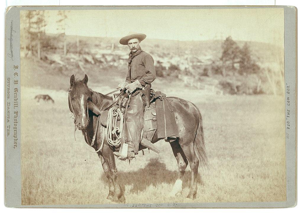 """The Cow Boy"" by John C.H. Grabill."