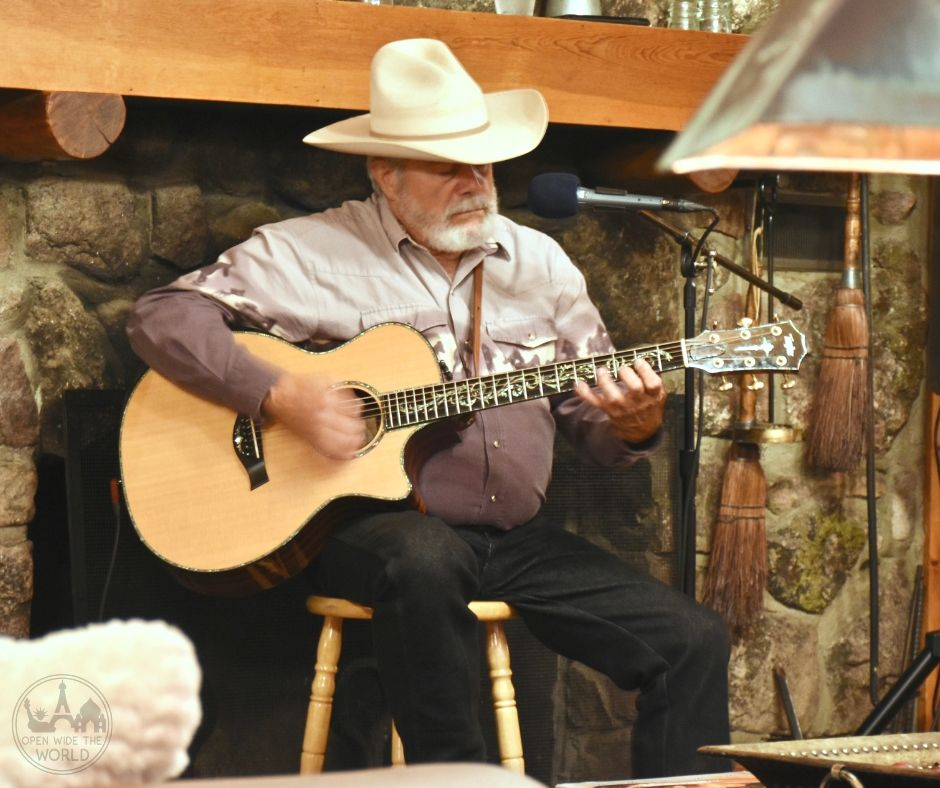 Cowboy songs and poetry presented by Ben, a lifelong local, brought history to life via a medium not encountered many places. Rawah Guest Ranch, Colorado