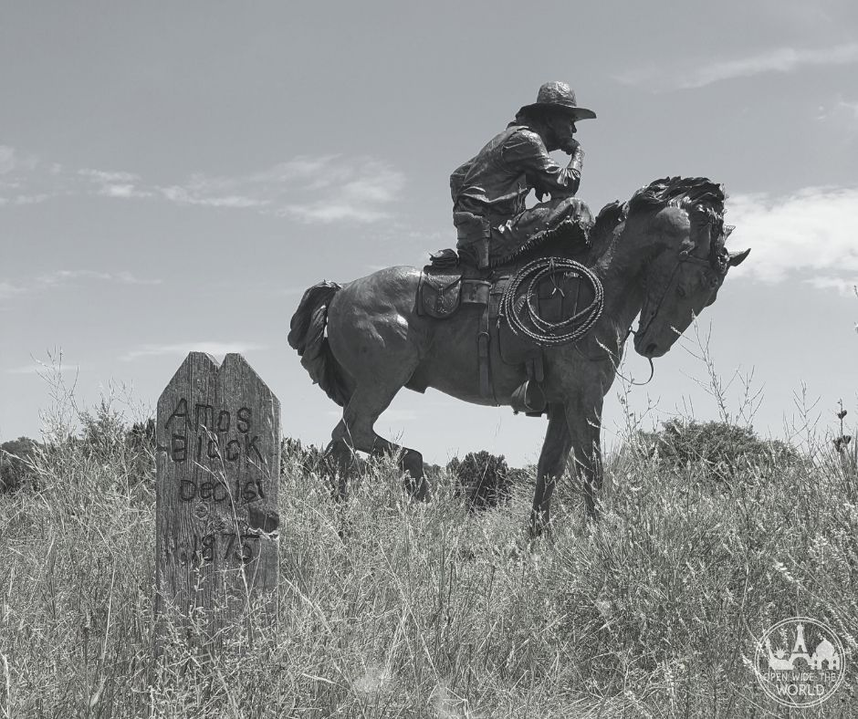 Boot Hill Cemetery in Ogallala, Nebraska. Ogallala was Nebraska's most deadly cowtown, with more fatal shootouts than any other Nebraska city.