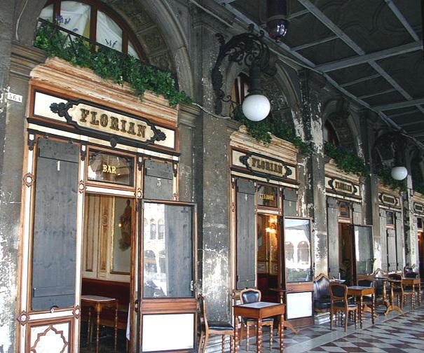 Caffè Florian today. Image by Giovanni Dall'Otro, public domain