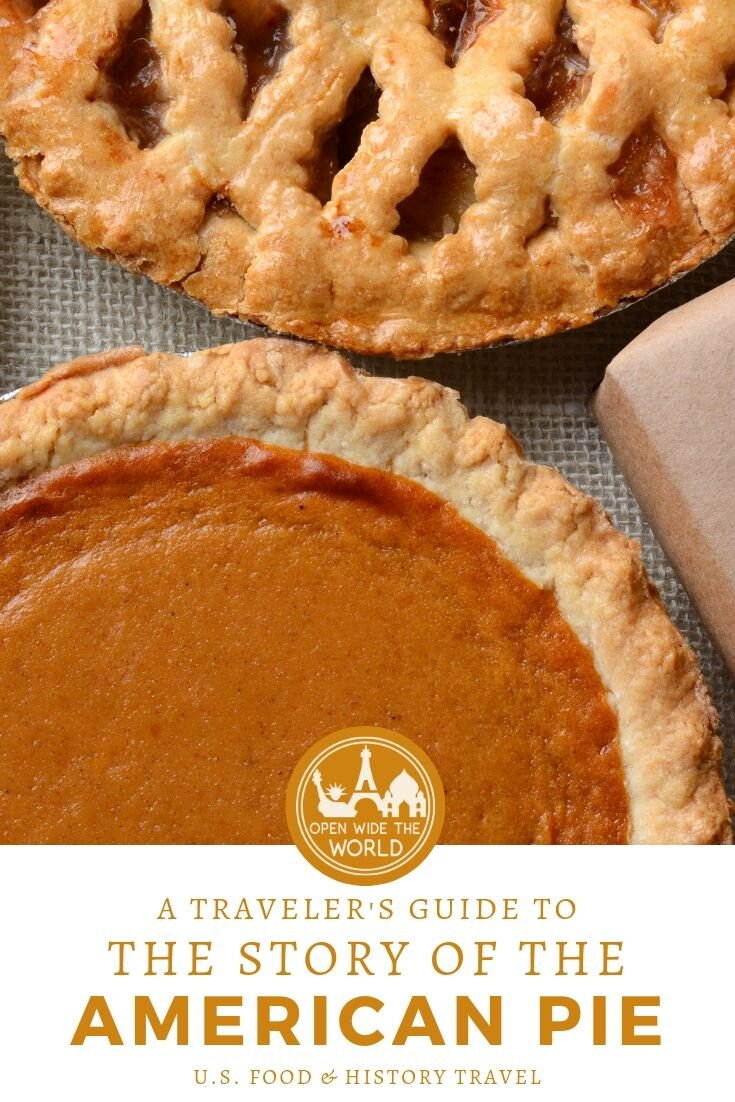Apple pie, pecan pie, pumpkin pie, key lime pie. Whether you're visitor to the U.S. who is interested in the American Pie legacy, or a local who wants to embrace your delicious heritage, don't eat another slice before you know the story of New World sweet pies! #pie #openwidetheworld