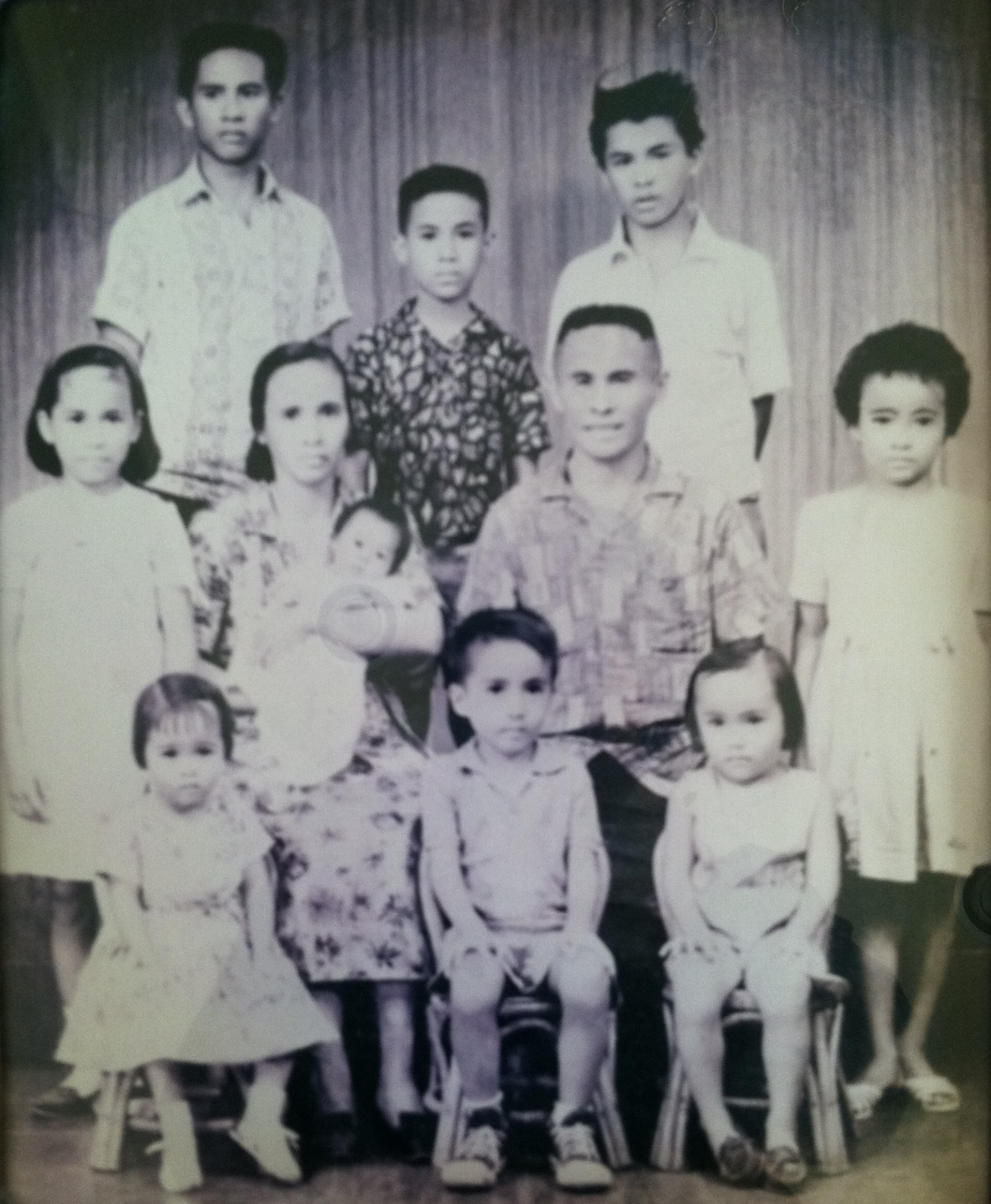 Abel, Thecla and their children.