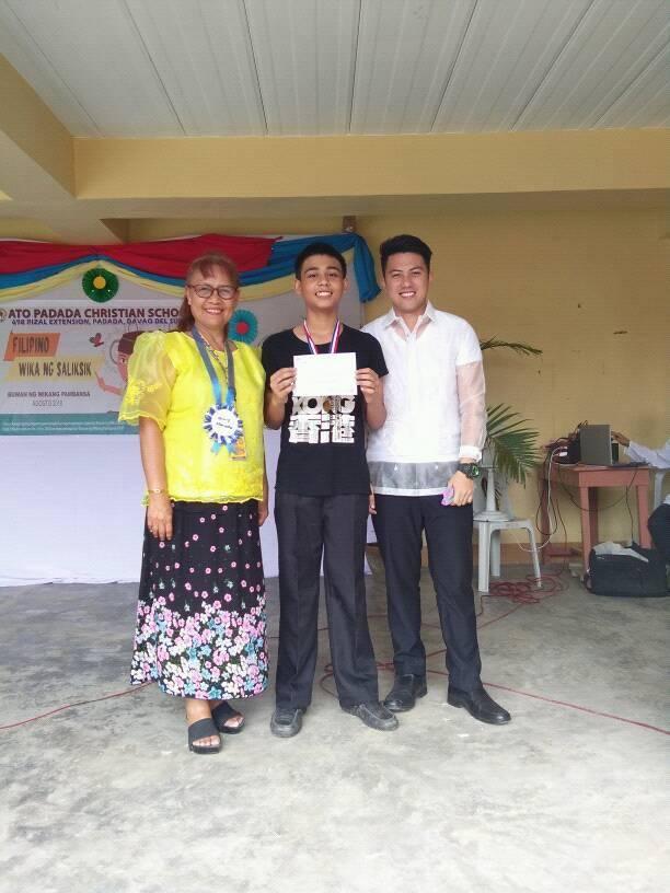 BUWAN NG WIKA AUGUST 31, 2018 — ATO Padada Christian School