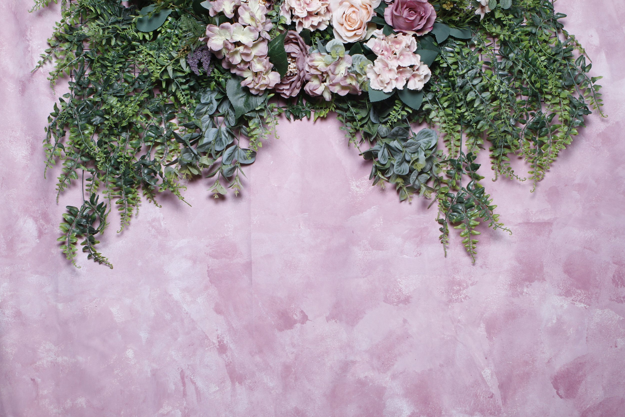 Dusty Pink with Peonies