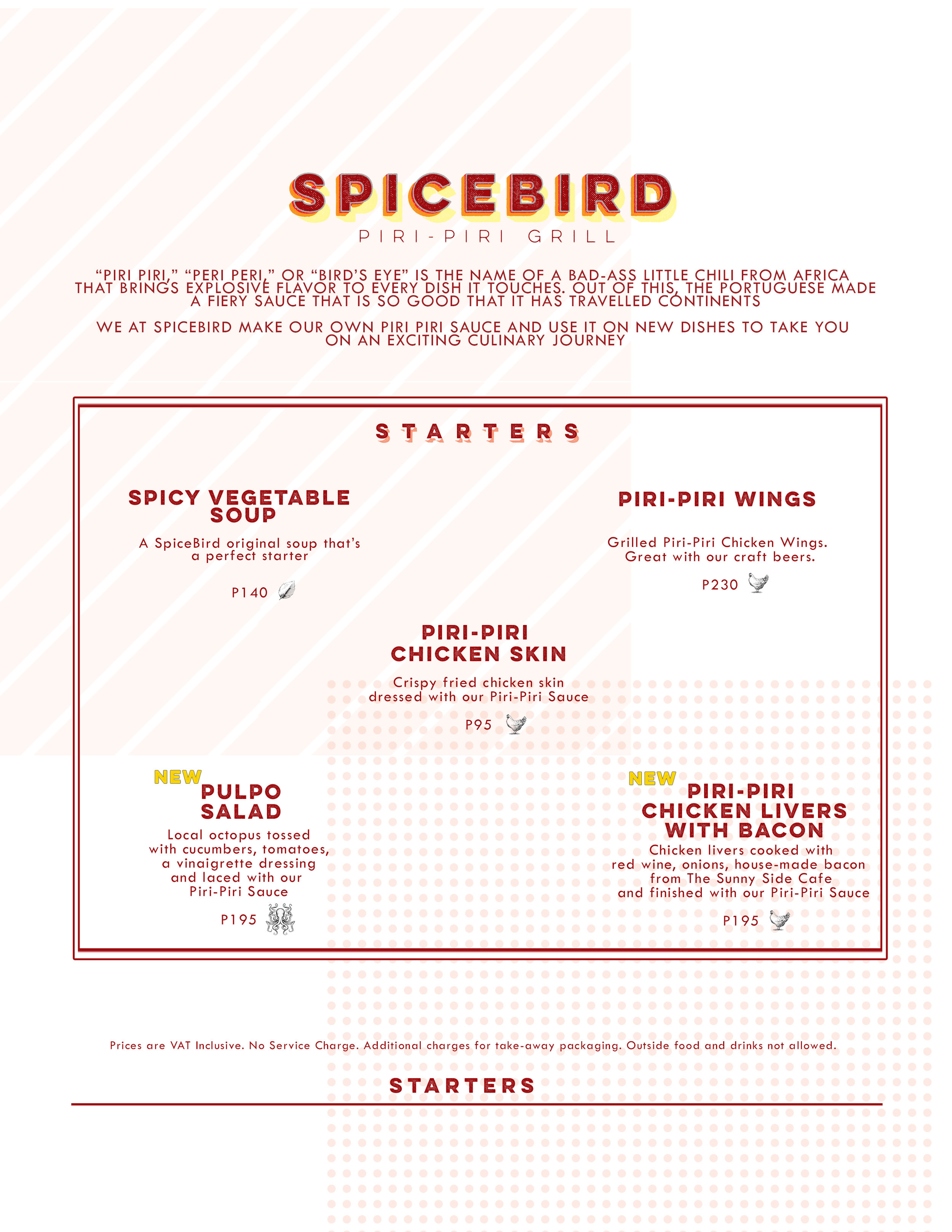 SpiceBird Menu Page One January 2017.jpg