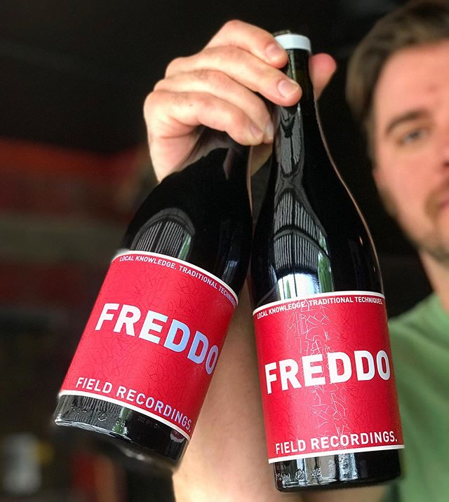 Chilled Red Wines are SO Hot Right Now!!! Our new favorite is the FREDDO from @fieldrecordingswine ... we promise it won't break your heart! 😘 . . . #chillablered #sangioveselovers #freddo #heartbreaker #godfather #summerredwine #redwineofsummer #summer2019 #datenightideas #uptownmpls #mplsdrinks