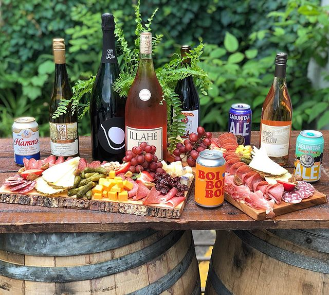 TONIGHT IS THE NIGHT!  Come celebrate our 4 year anniversary with Unlimited wine, beer, live music, and dancing! Red wagon pizza, amazing salads, The Buttered Tin desserts, and our famous Charcuterie boards until 9!  All starts at 7pm, & Last entry is at Midnight!! See you soon. 🎉💃🏿🕺🏼