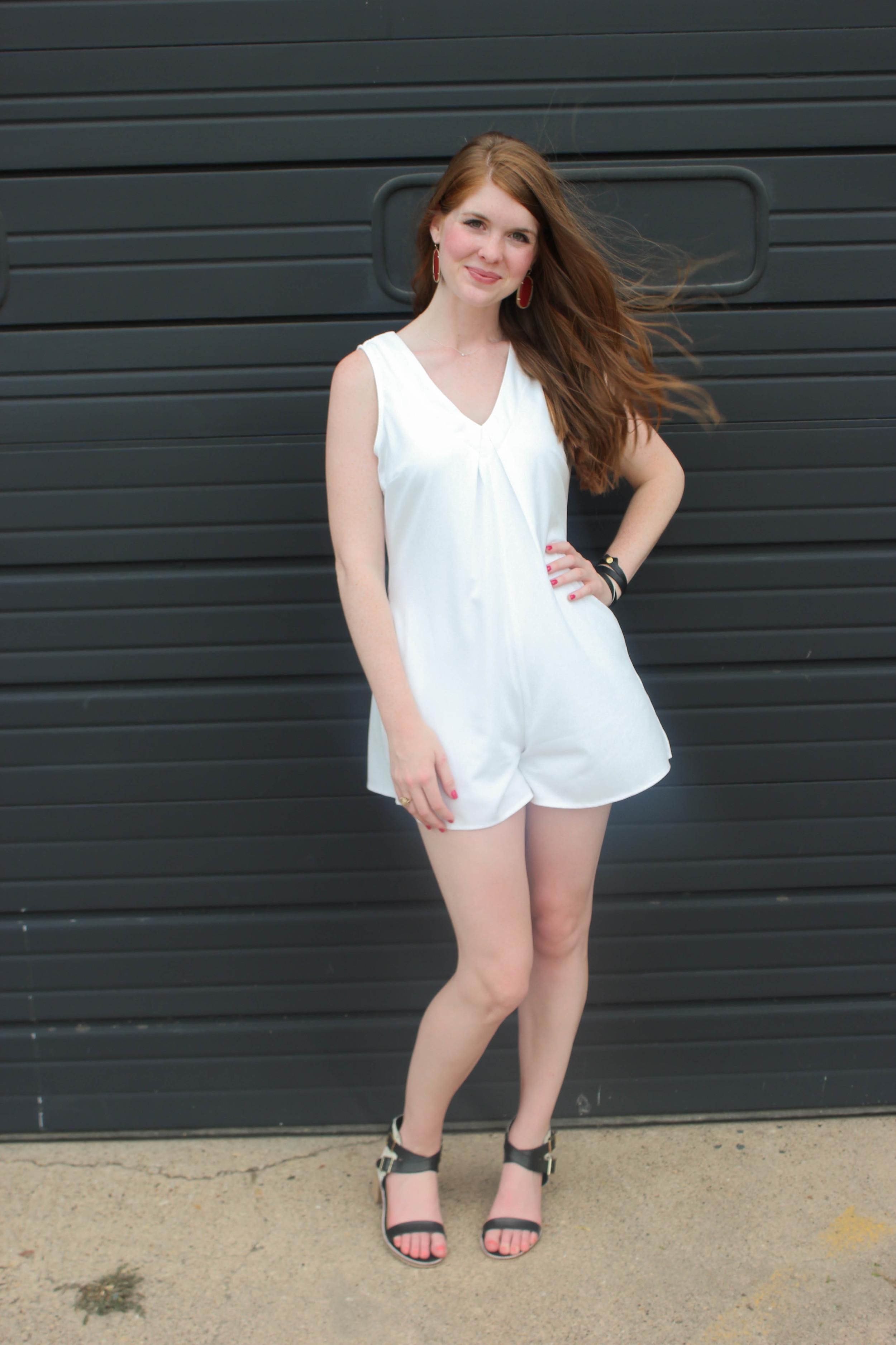 White Romper | Southern Elle Style | Dallas Fashion Blogger
