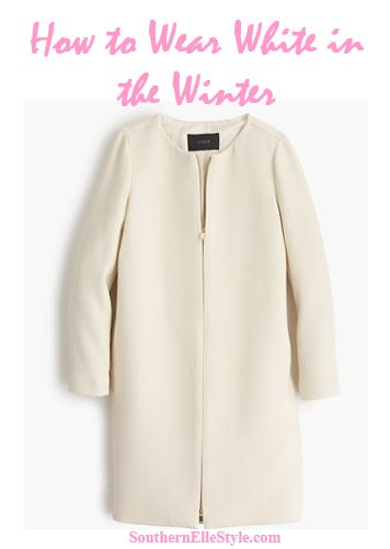 How to wear Winter White | Southern Elle Style | Dallas Fashion Blogger