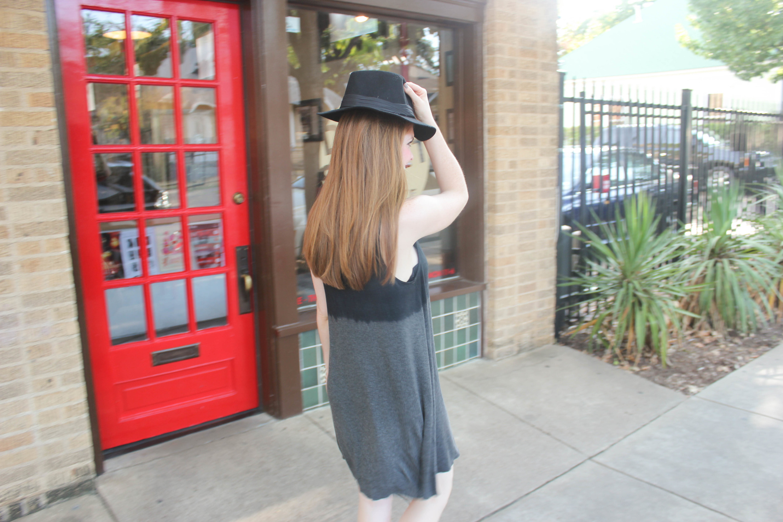 Black and grey dress | southern elle style | dallas fashion blogger