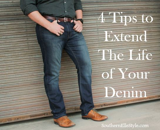 How to Extend the Life of Your Denim | Southern Elle Style | Dallas Fashion Blogger