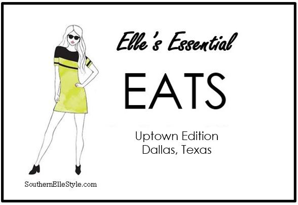 where to eat in Uptown, in Dallas, Texas