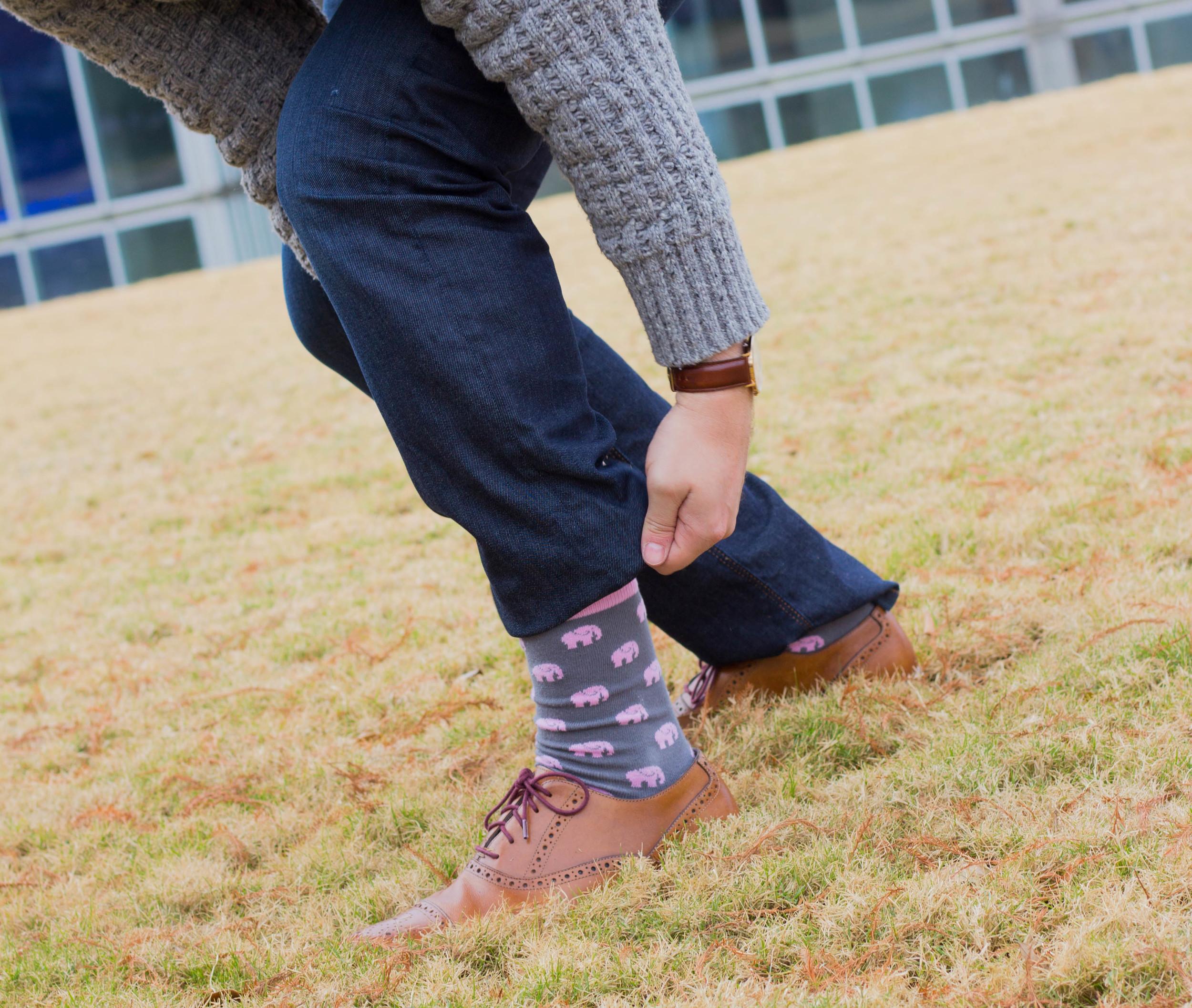 foot cardigan, menswear, socks, dl1961 jeans, banana republic sweater