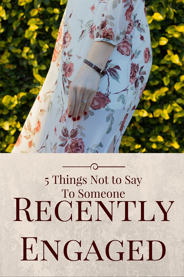 5 things not to say to someone recently engaged, weddings, dallas, southern elle style