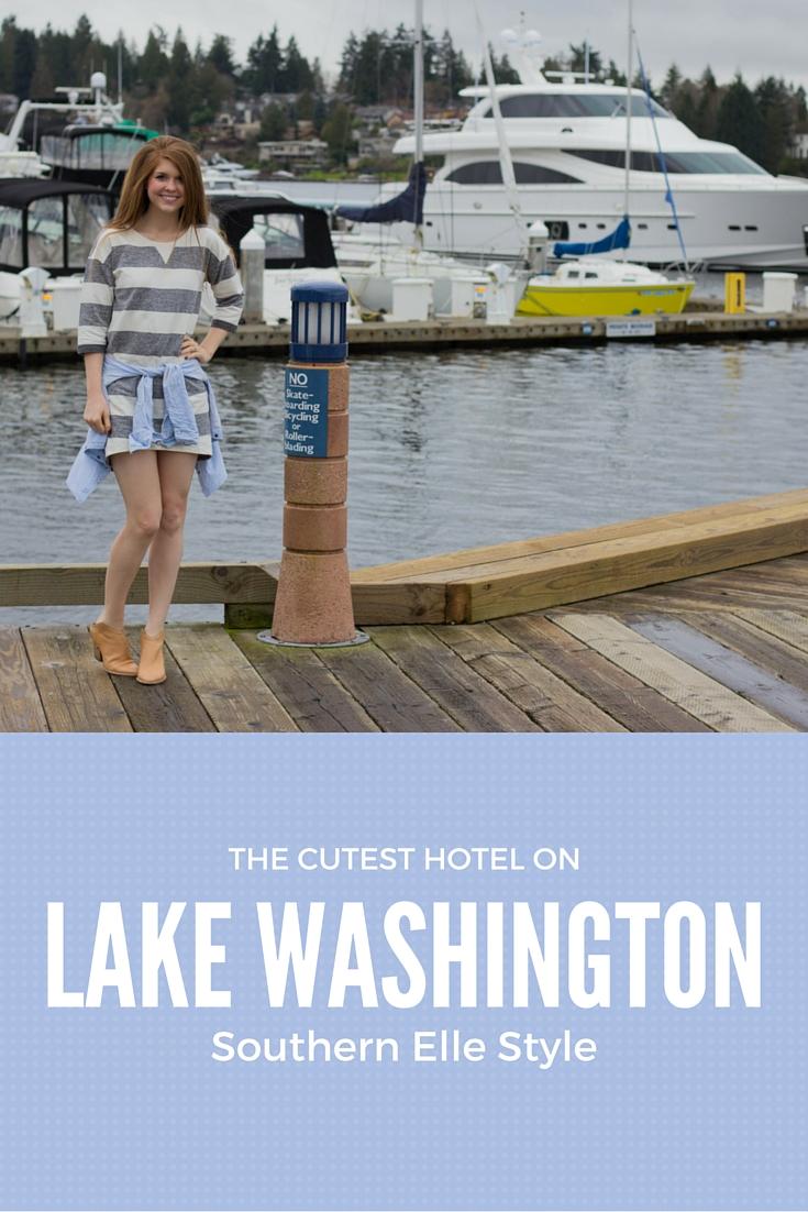 the cutest hotel on lake washington, seattle, kirkland, washington, boutique hotel, yacht club