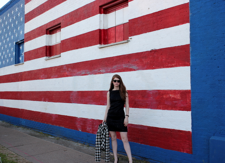 target dress, house of cards, deep ellum, american flag, netflix, raybans