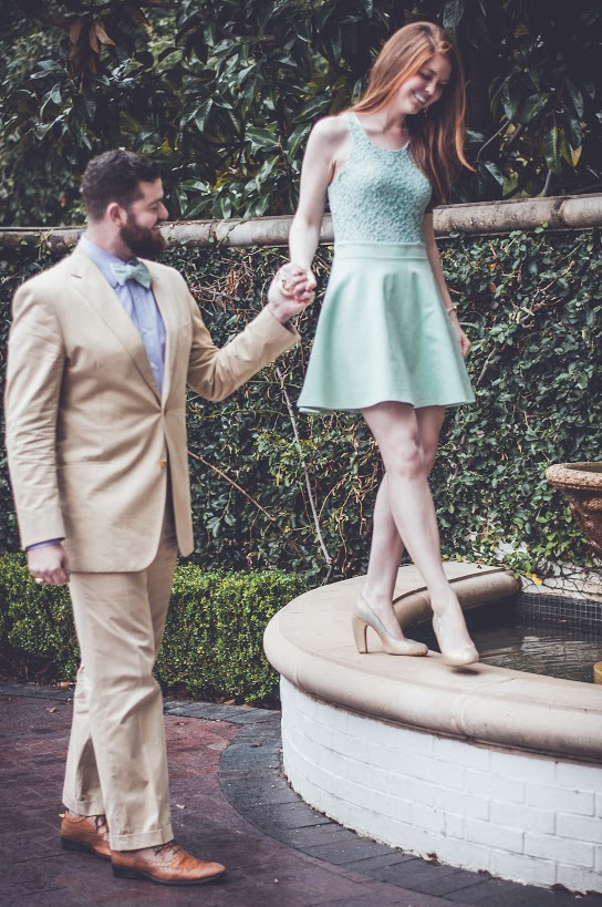 Beards, bow ties, Easter dress, mint, custom, Dallas