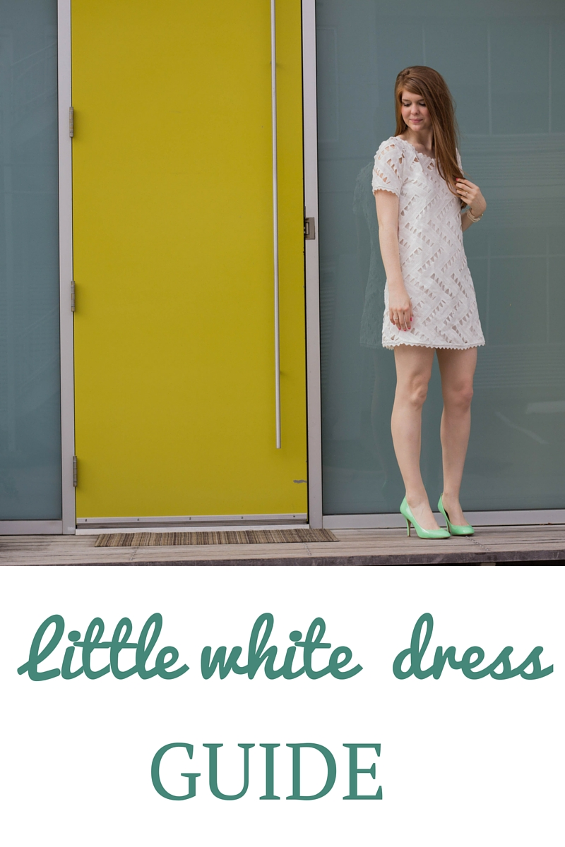 little white dress guide, bride to be, engaged, wedding shower
