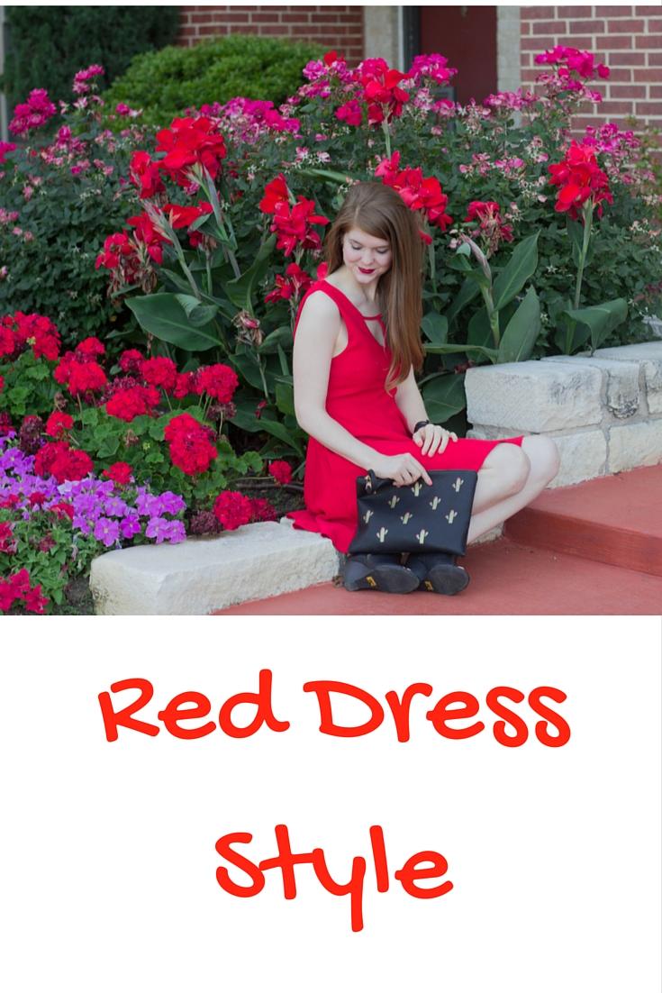 red dress style, minkpink red dress, bc footwear wedges, street level le tote cactus clutch, kendra scott skylar earrings, nars manhunter lipstick. dancer emoji, cinco de mayo