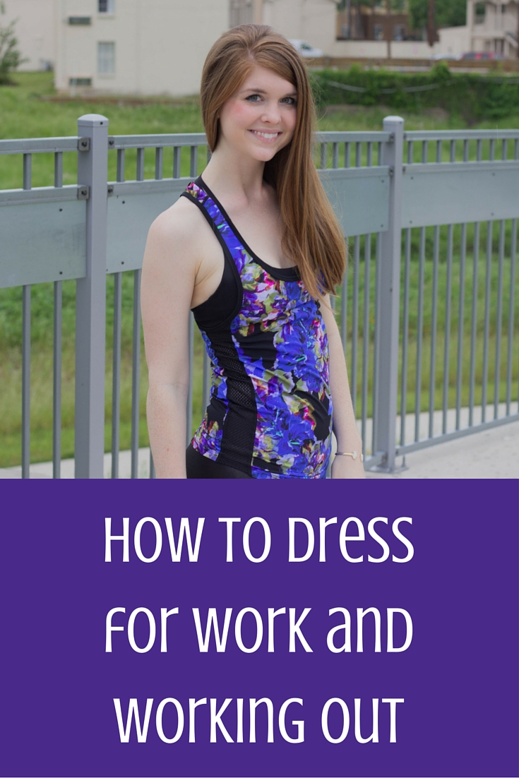 the secret to dressing for work and working out, at the same time, l'urv, style squared clothing, fitness, fashion