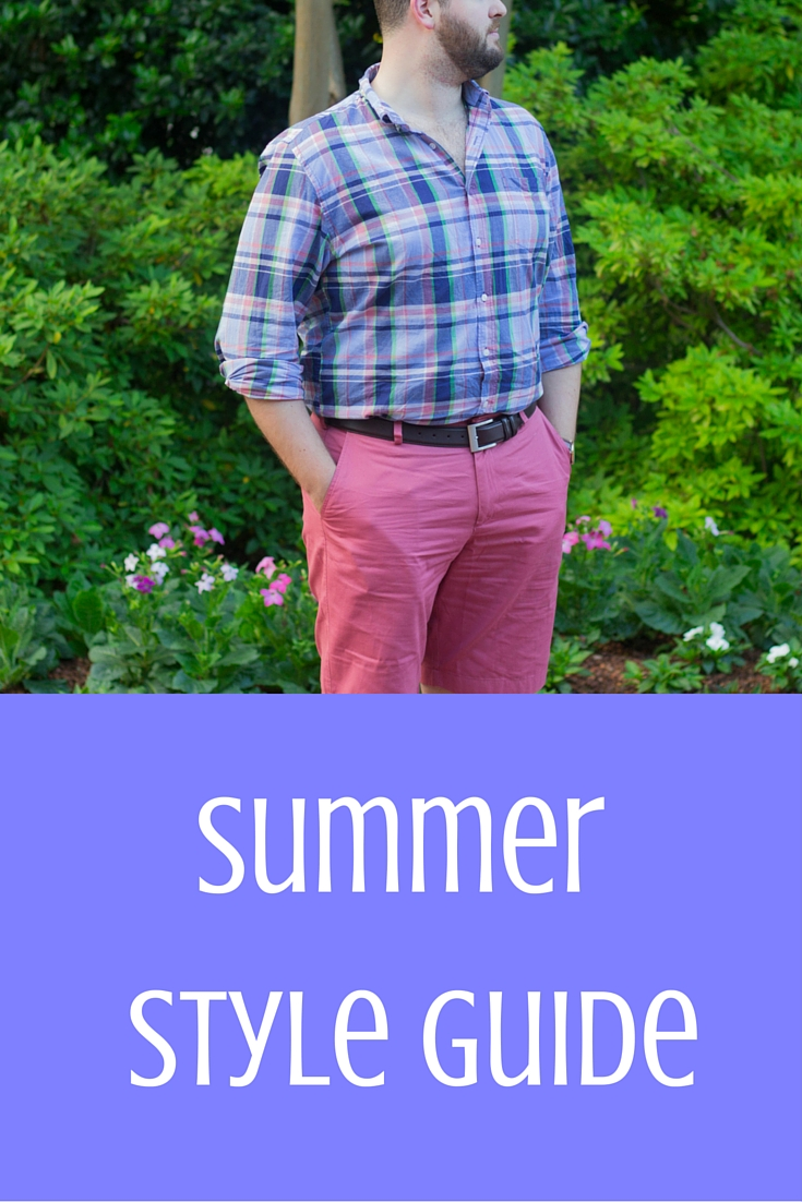 mens summer style guide, what guys should wear in summer, spring, j crew factory