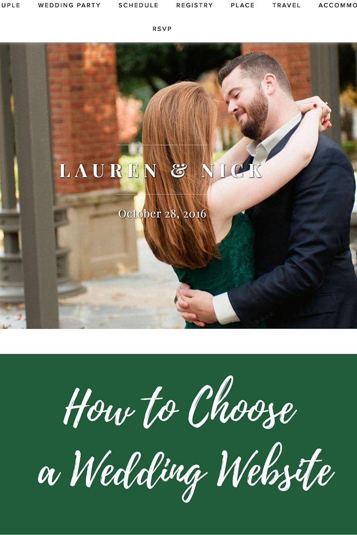 how to choose a wedding website, what wedding website should i use, riley and grey, wedding website platform, engaged