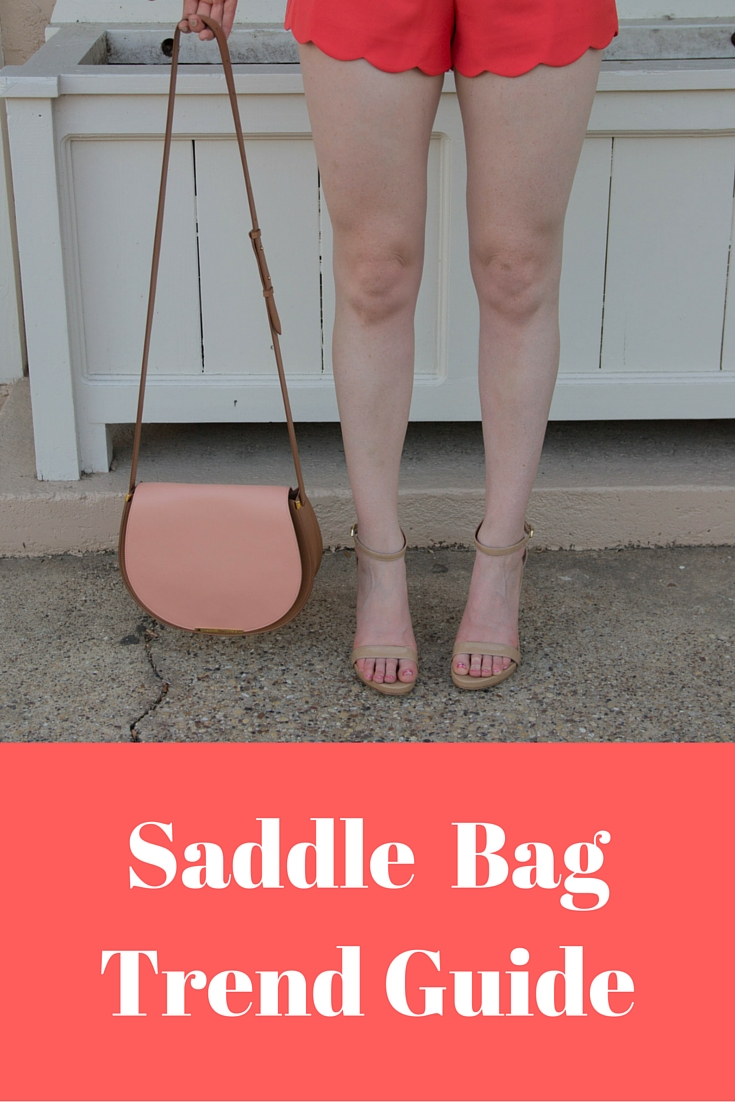 the saddle bag story, saddle bag trend guide, cuyana saddle bag, storee nordstrom  scallop romper