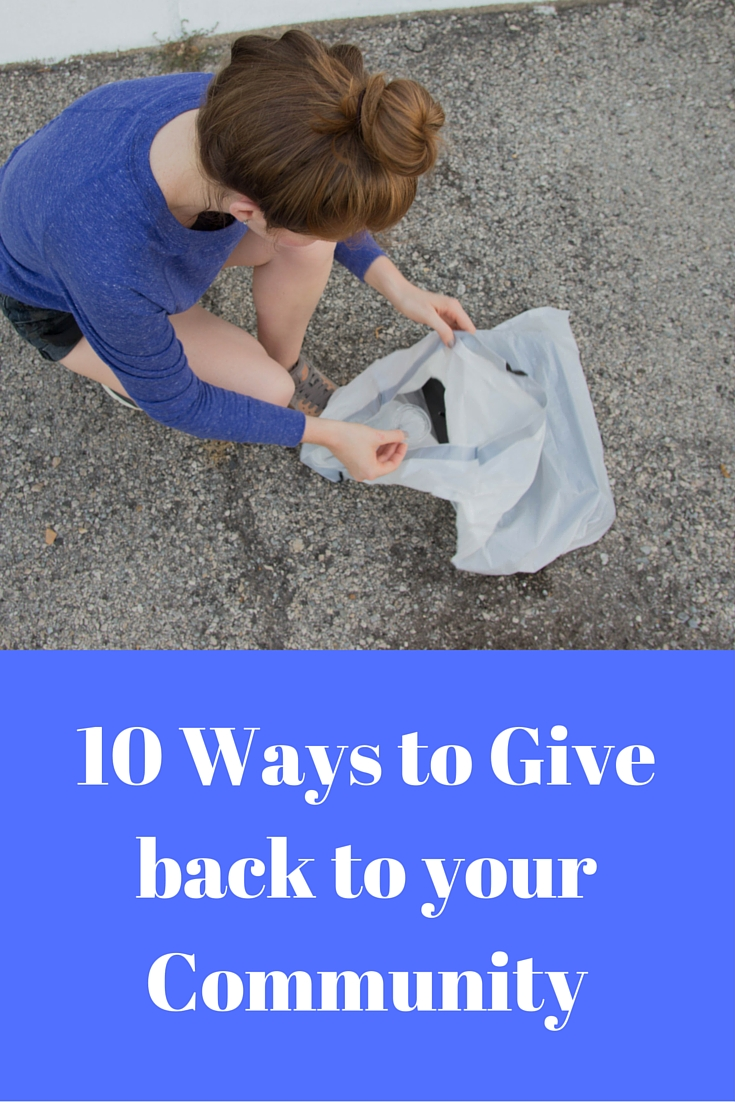 10 ways to give back to your community, ways to give back in dallas, community service, jewelers mutual insurance company, band together, STACKED new york