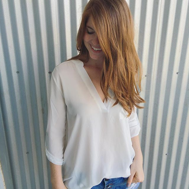 hair by charlie, dallas, amber ingram smith, nordstrom white tunic, nsale, summer, how to keep your hair strong in the summer, joico luster lock