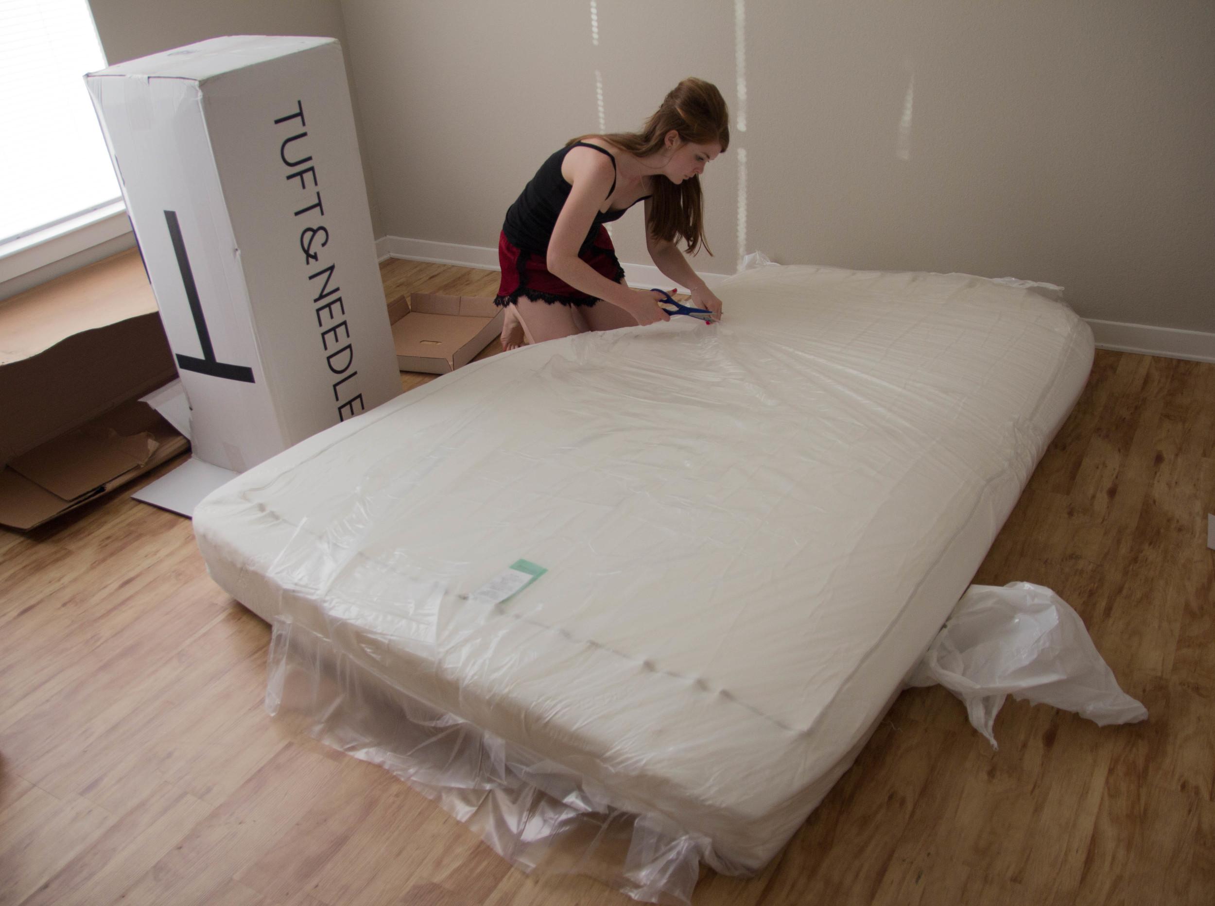 tuft and needle, online mattress company, california king mattress, where to buy a mattress, show me your mumu nori's knickers, j crew perfect fit tank