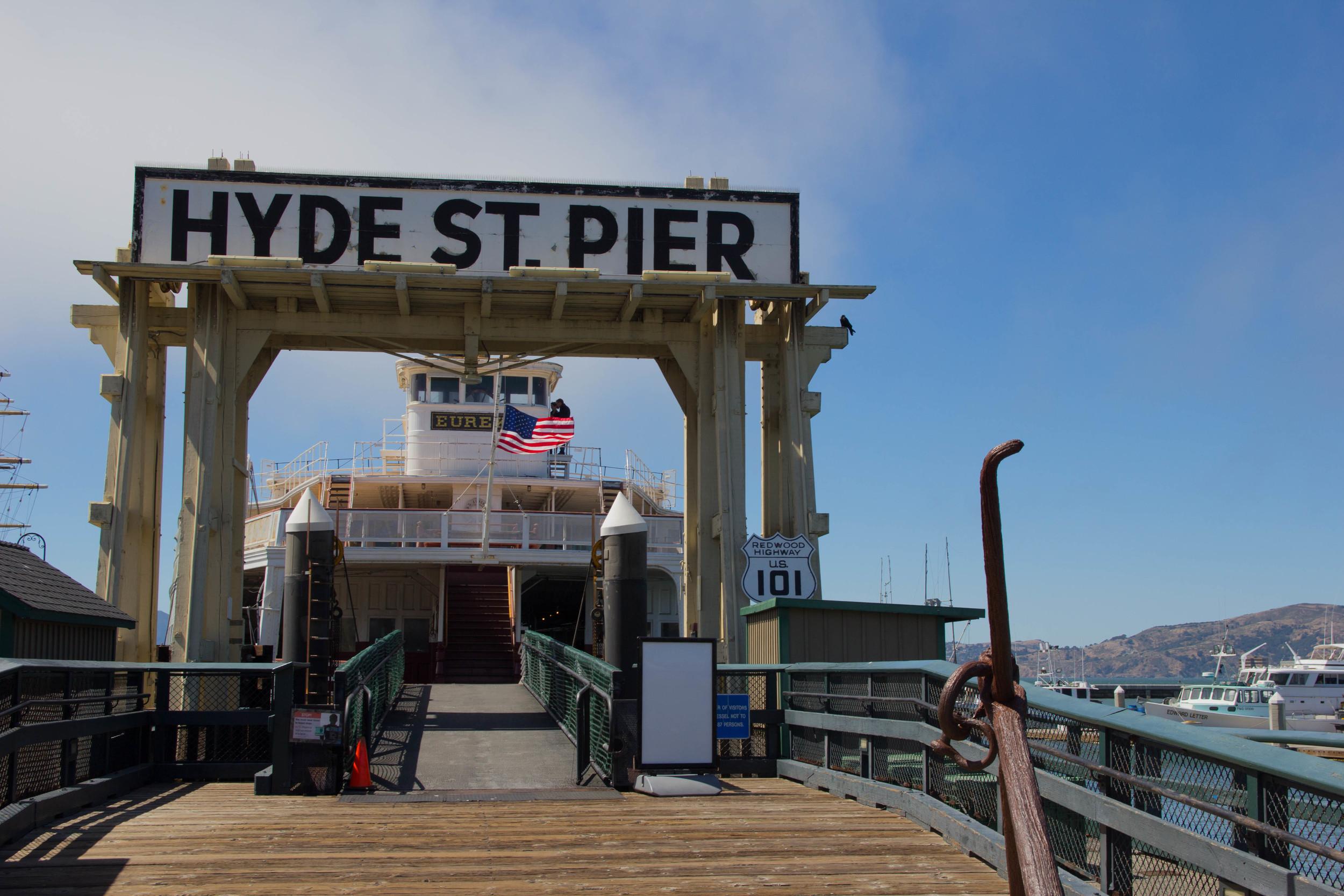 hyde street pier, san francisco, california