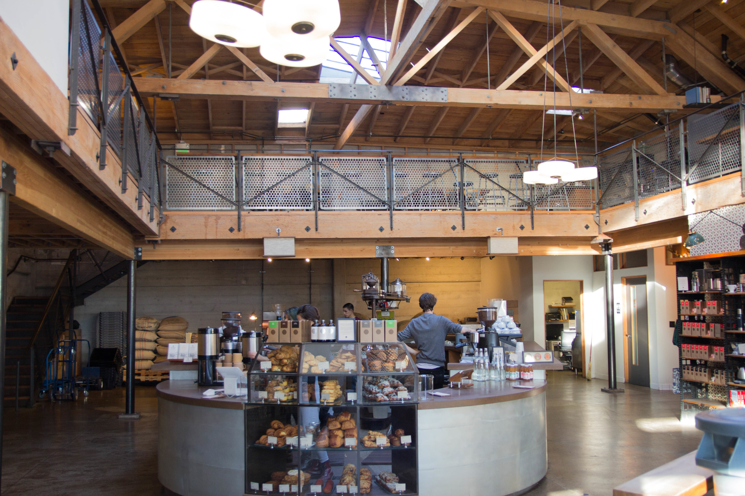 where to get coffee in san francisco, california, sightglass coffee