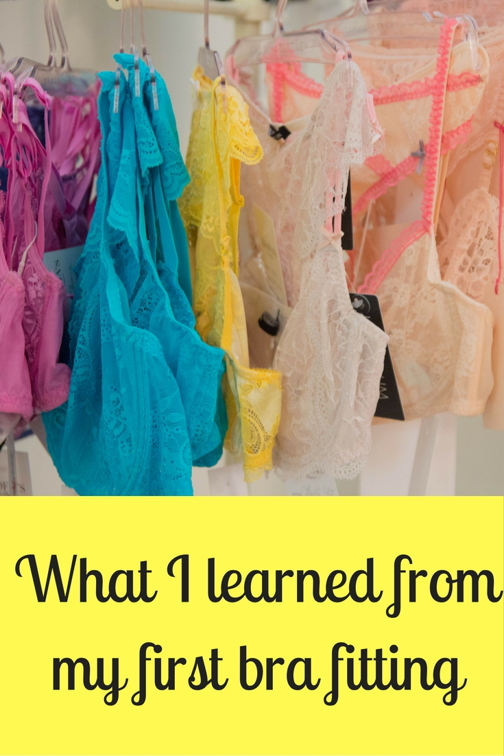 what i learned from my first bra fitting, how many times you can wear your bra before washing it, zsofia's lingerie, dallas